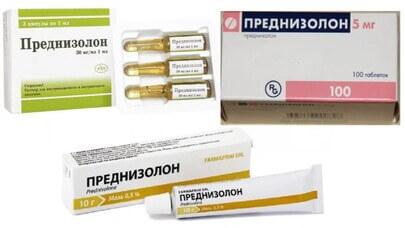 Преднизолон при астме